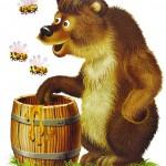 мёд и медвёдь