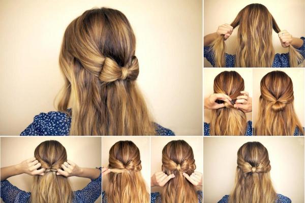 Причёска на очень короткие волосы своими руками