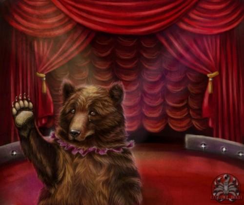 Страшнее мишки зверя нет!